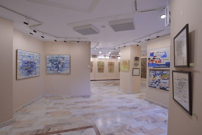"""Earth and Waves"" - Viorica Iacob's exhibition"