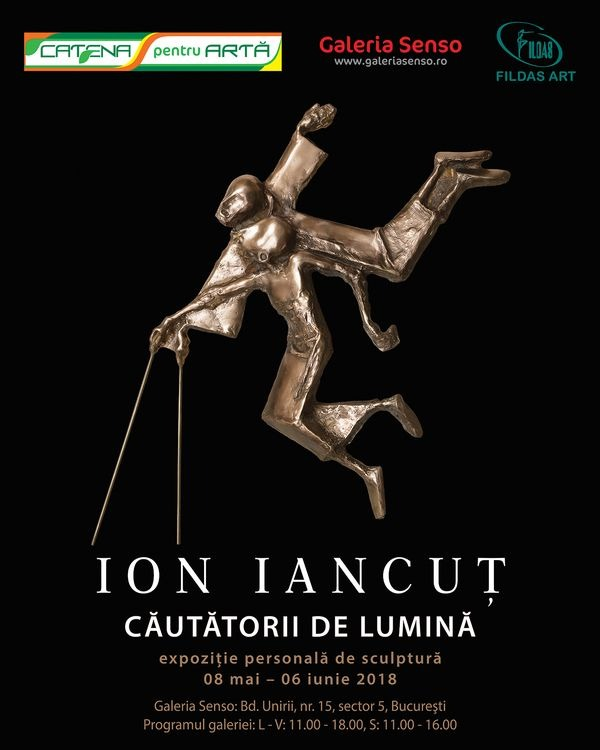"""LIGHTSEEKERS"", the personal exhibition of Ion Iancut at Senso Galley"