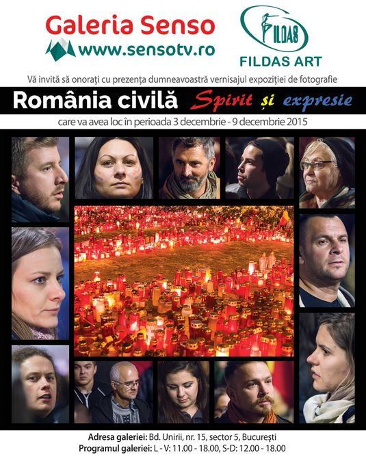 "The Photography Exhibition ""Romania Civila. Spirit si expresie"" (Civil Romania. Spirit and Expression"")"
