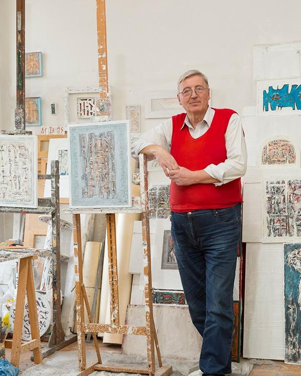 Dan Constantinescu revine cu o noua expozitie la Galeria Senso