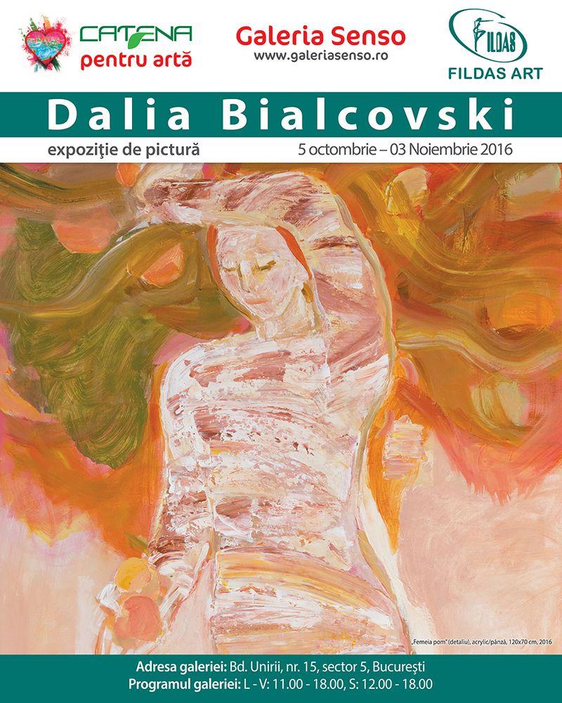 """Expozitia de pictura """"Ademenitoare povara""""  - DALIA BIALCOVSKI"""