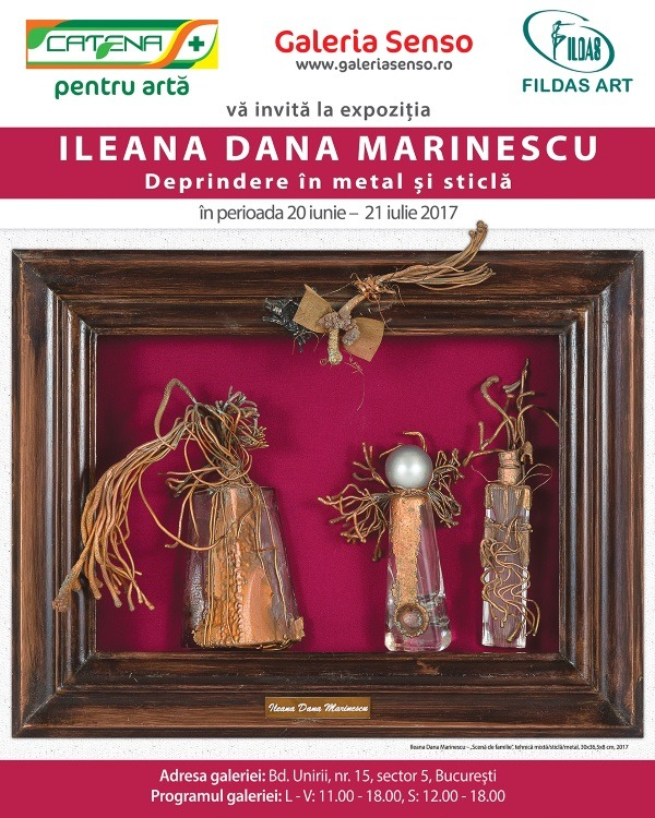 """Habitualness to Metal and Glass"" with artist Ileana Dana Marinescu"