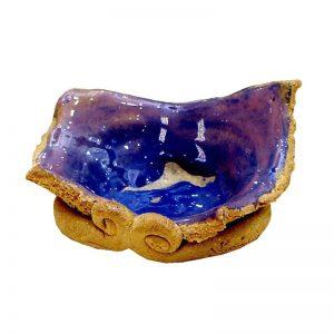 Obiect de caolin cu cobalt II-arta-decorativa-daniela-fainis