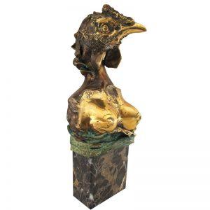 Idol pagan-sculptura-dorin-lupea