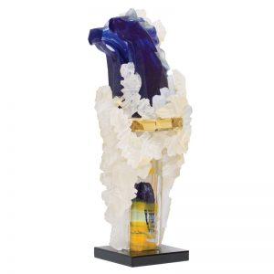 Cai albastri-arta-decorativa-dan-bancila