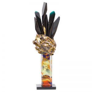 Flori negre-arta-decorativa-dan-bancila