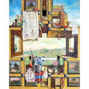 Rastelul-pictura-zamfir-dumitrescu