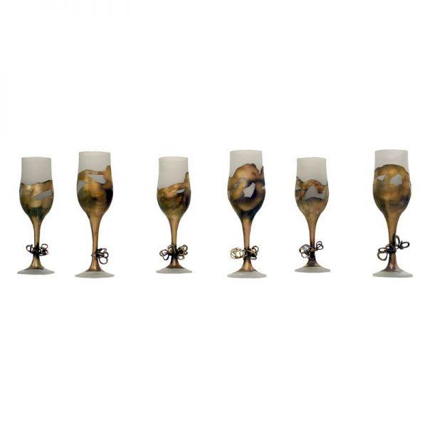 Set pahare decorative-arta-decorativa-dan-bancila