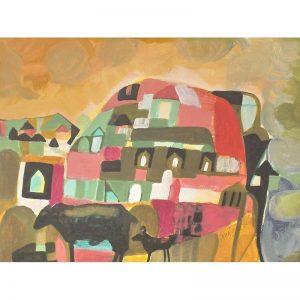 Deal cu amintiri-pictura-angela-tomaselli