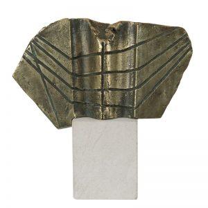 Semn pentru zbor-sculptura-aurel-contras