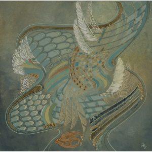 Simbol divin-pictura-doina-reghis-ionescu