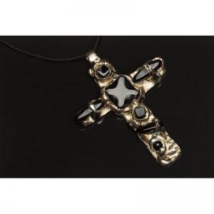 Pandant Cruce Onix-bijuterie-alina-bancila