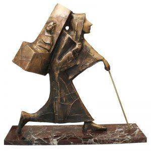 Plimbarea tronului-sculptura-ion-iancut