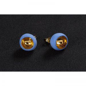 Cercei sferici cu tija II-bijuterie-raluca-buzura