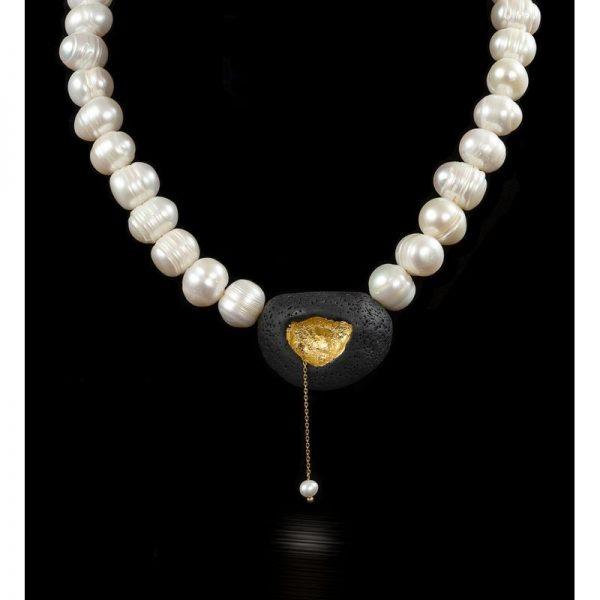 Shiny necklace II-bijuterie-maria-filipescu