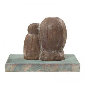 Maternitate II-sculptura-elena-dumitrescu