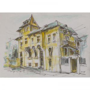 Strada Transilvaniei-pictura-constantin-grigoruta