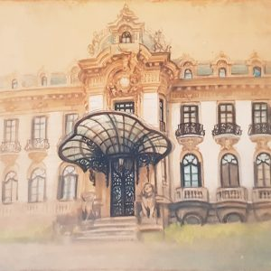 Palatul Cantacuzino II-grafica-mirela-hagiu