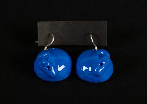 Cercei portret blue-bijuterie-maria-filipescu