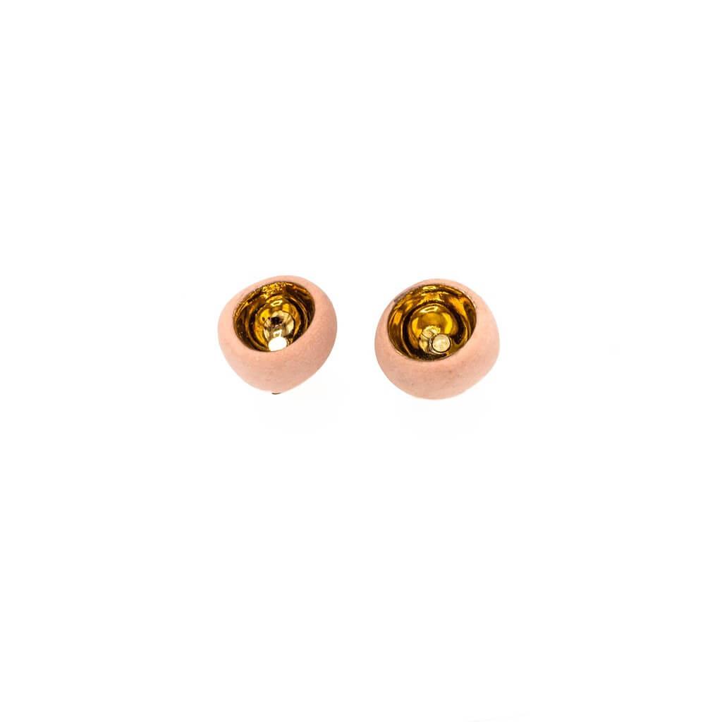 Cercei sferici cu tija-bijuterie-raluca-buzura