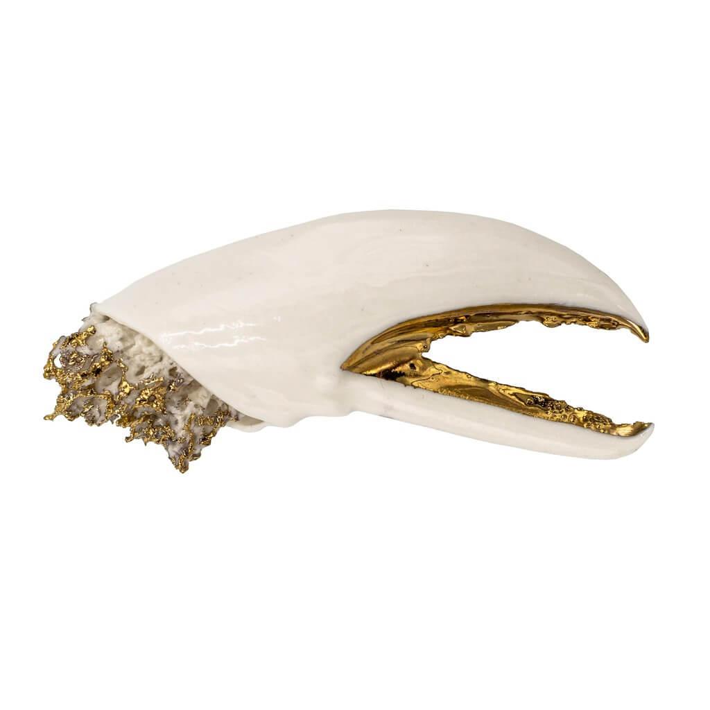 Brosa alba Lobster-bijuterie-raluca-buzura