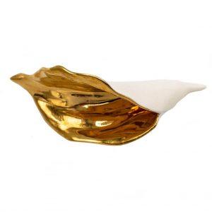 Brosa alba Lily-bijuterie-raluca-buzura