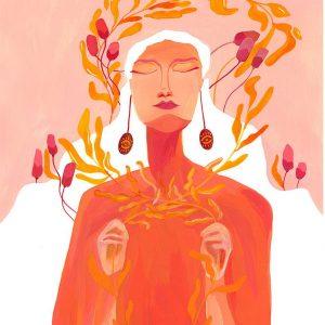 Inner peace-ilustratie-si-caricatura-