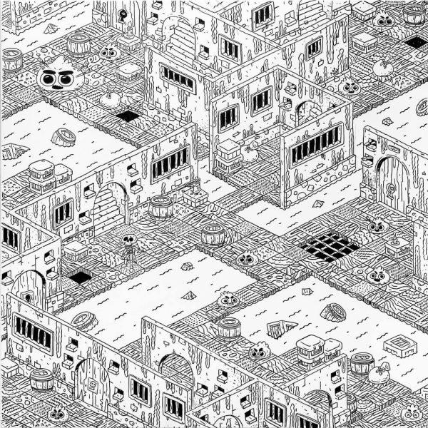 Dungeon XII-grafica-catalin-gospodin