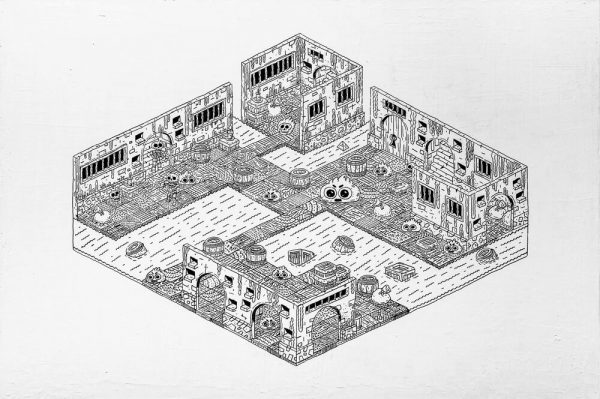 Dungeon I-grafica-catalin-gospodin