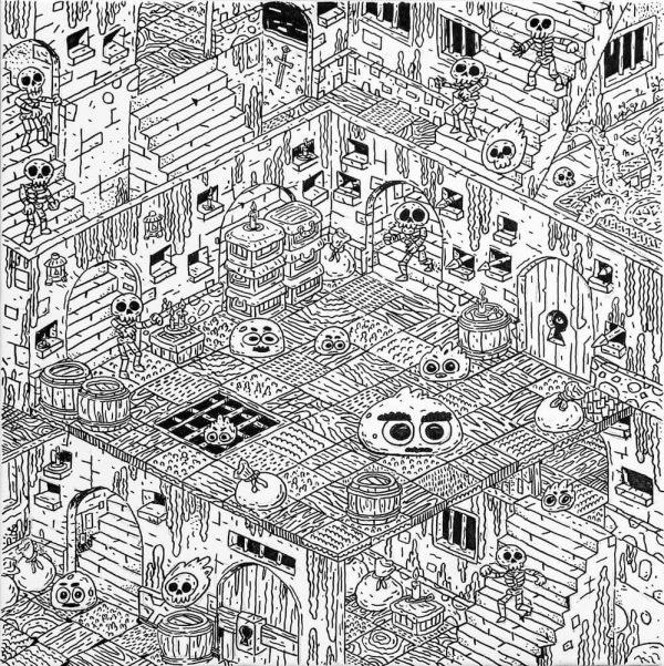 Dungeon IX-grafica-catalin-gospodin