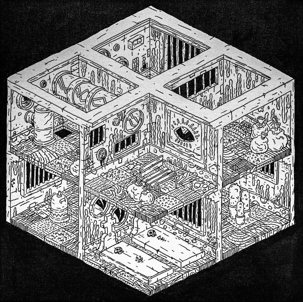 Dungeon XI-grafica-catalin-gospodin