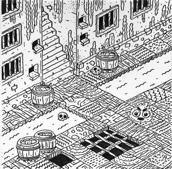 Dungeon XIV-grafica-catalin-gospodin