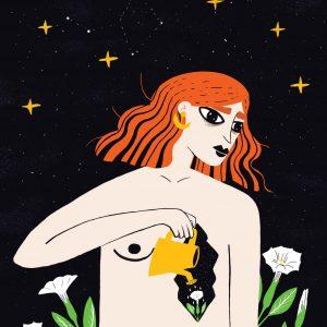 Moonflower-ilustratie-si-caricatura-