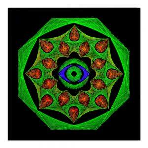 Soul gate mandala-arta-decorativa-fluo-webs