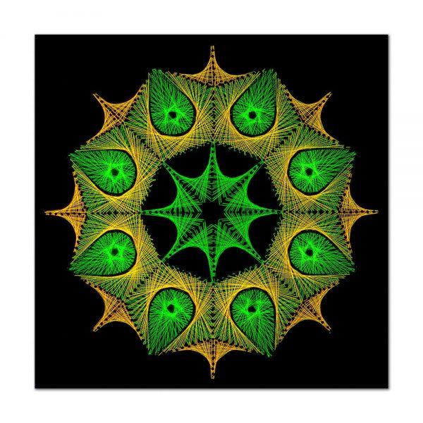 Forest mandala-arta-decorativa-fluo-webs