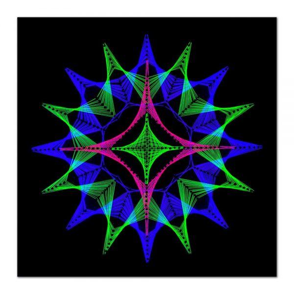 Abstract mandala-arta-decorativa-fluo-webs