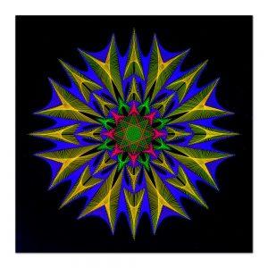 Psychedelic fractal-arta-decorativa-fluo-webs