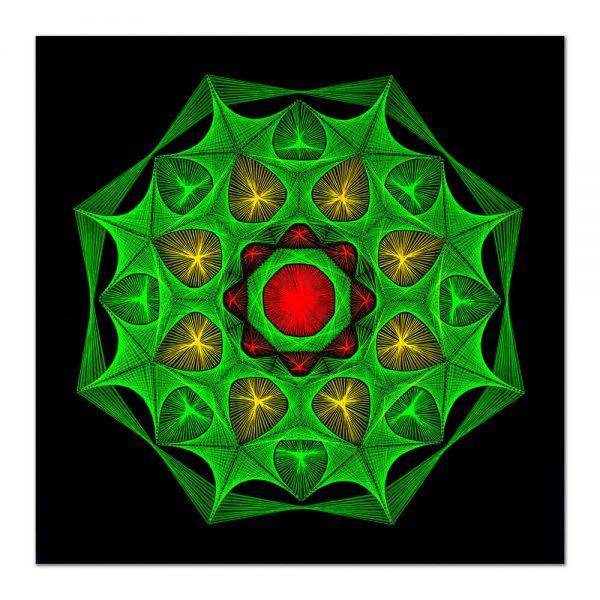 Spring mandala-arta-decorativa-fluo-webs