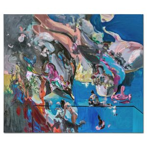 Summer landscape-pictura-liviu-mihai