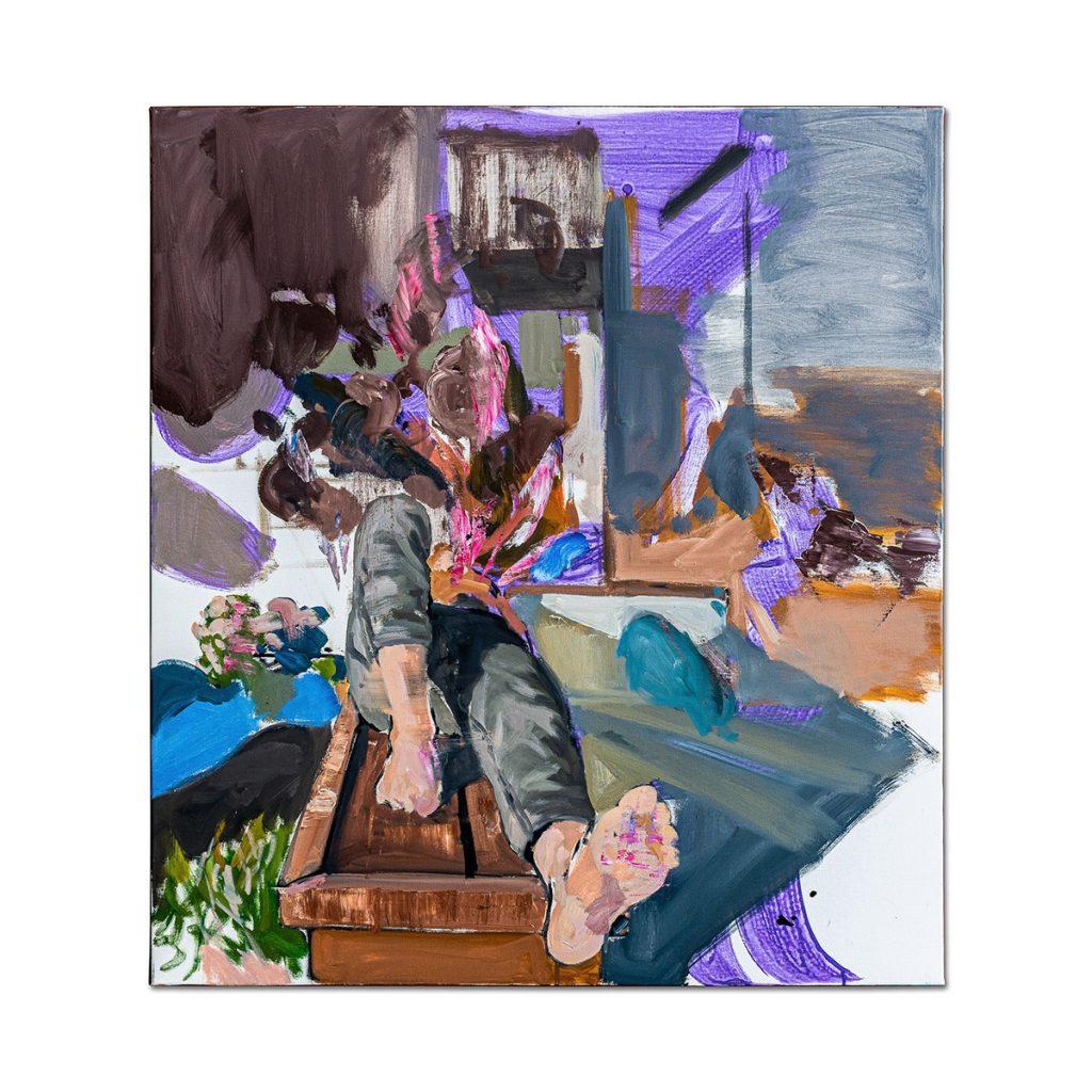 Dreaming boy-pictura-liviu-mihai