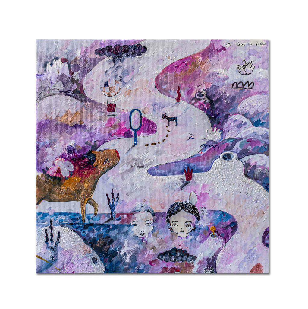 Șapte pași II-pictura-ana-stefania-andronic
