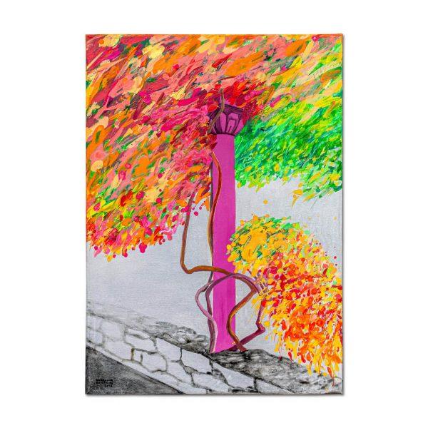 Coloana înflorită-pictura-bogdana-contras