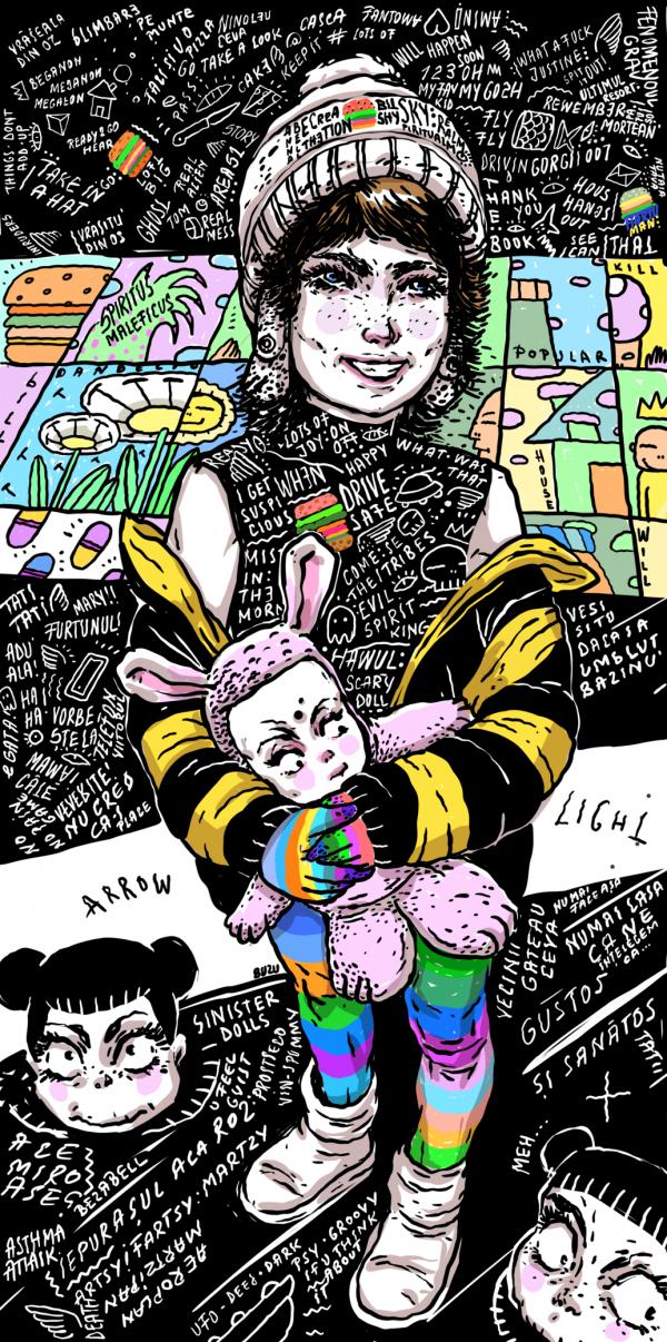 Arrow light-ilustratie-si-caricatura-ana-stefania-andronic