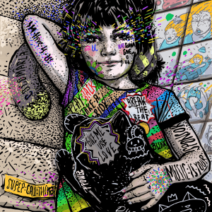 Break the beat I-ilustratie-si-caricatura-ana-stefania-andronic