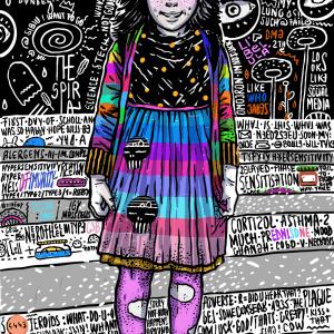 Dandelion-ilustratie-si-caricatura-ana-stefania-andronic