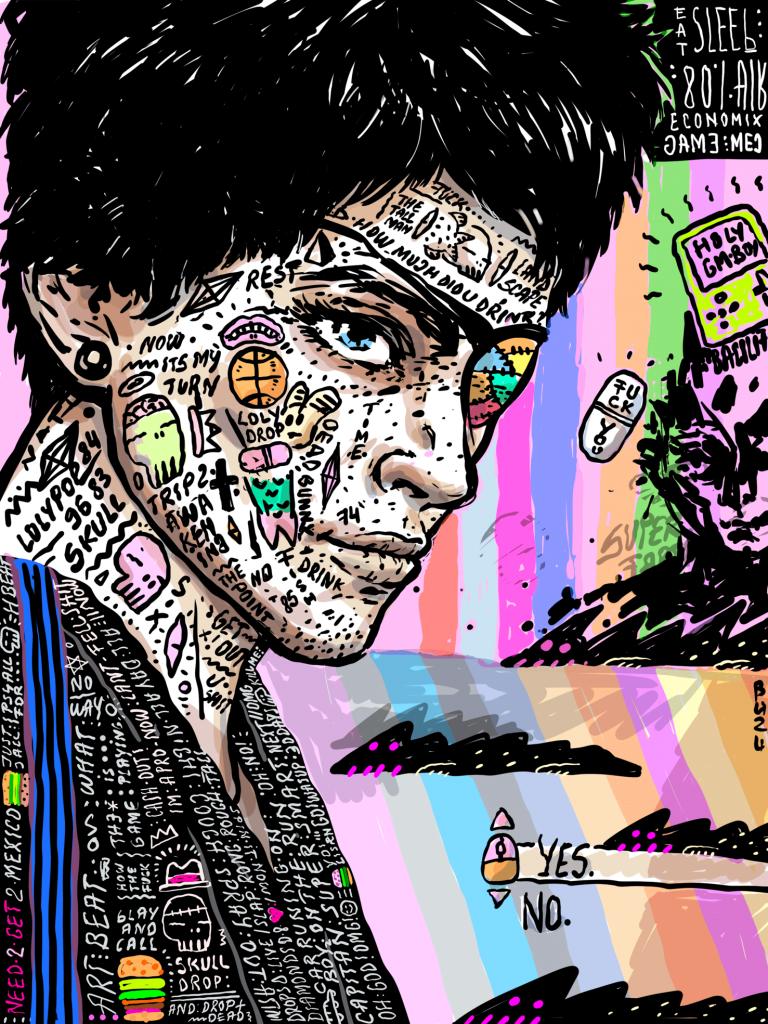 Pirat-ilustratie-si-caricatura-ana-stefania-andronic