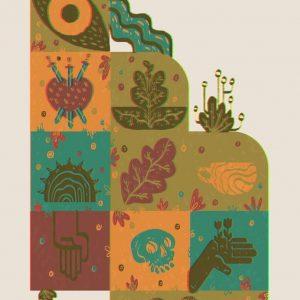 Tarot coasters-ilustratie-si-caricatura-catalin-gospodin